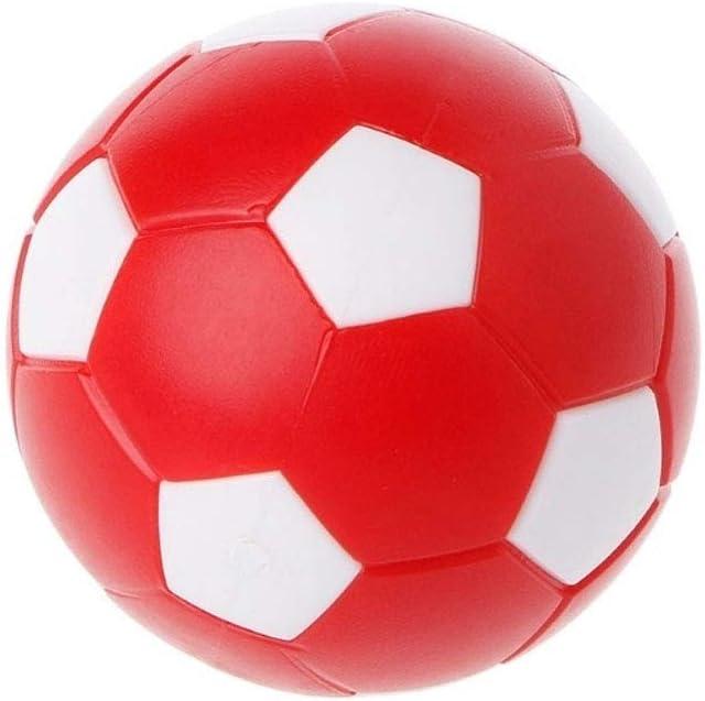 rycnet Kids & Adultos Fiesta de cumpleaños Favours plástico fútbol Mesa de fútbol Interior Familia Juego Colorido Deportes Bola Juguetes, Random Color: Amazon.es: Deportes y aire libre