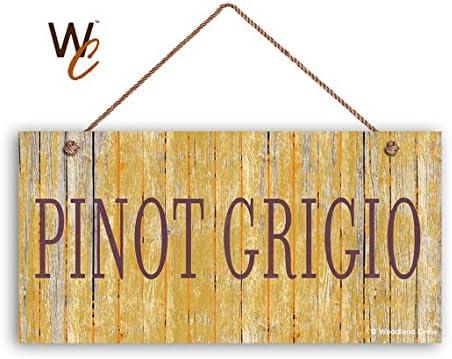 PINOT GRIGIO Wine Sign
