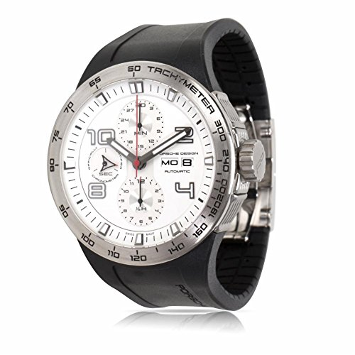 Porsche Design Flat 6 Automatic-self-Wind Male Watch P6340.41/4 (Certified Pre-Owned)