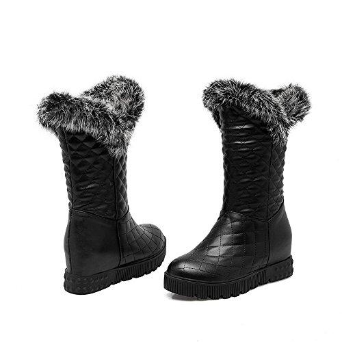 Stivali In Uretano Con Solidi Comfort Balamasa Da Donna Neri