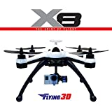 Nicky's Gift Flying 3D x8 6 Axis 2 4G 8CH GPS RC Quadcopter RTF