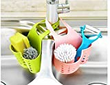 Portable Basket Home Kitchen Hanging Drain Basket Bag Bath...