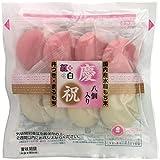 前原製粉 紅白まるもち(慶祝)八個入り 260g×5袋