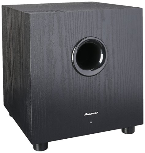 Pioneer SW-8MK2 Andrew Jones Designed 100-Watt Powered Subwoofer by Pioneer