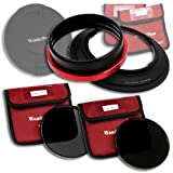 Wonderpana 145 Neutral Density Kit for Nikon 14-24mm AF-S Zoom Nikkor f/2.8G ED AF Lens with Neutral Density 16 (ND16, 4-Stop) and 32 (ND32, 5-Stop) Filters