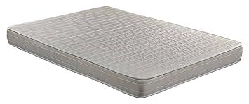Colchón espuma HR, 135 x 190 x 16 cm, confort en dos caras,