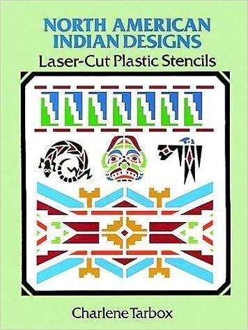north american indian designs laser cut plastic stencils