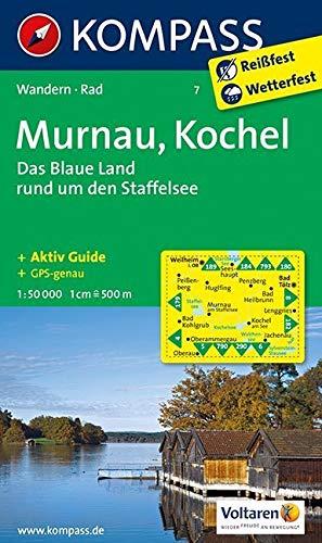 Land Das Wanderkarte Blaue Staffelsee Rund Murnau Kochel Den Um OaZqTT
