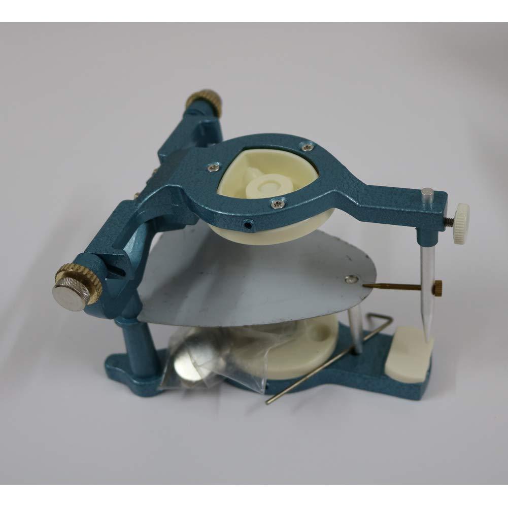 Articulator Dental,Aluminum AlloyLarge Magnetic Articulator Adjustable Anatomical Dental Tools For Laboratory Use (Large Size Blue) by ZCMYXA-DENTAL