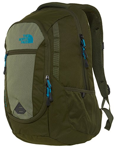 The North Face Pivoter Backpack (Forest Night Green/Enamel Blue)