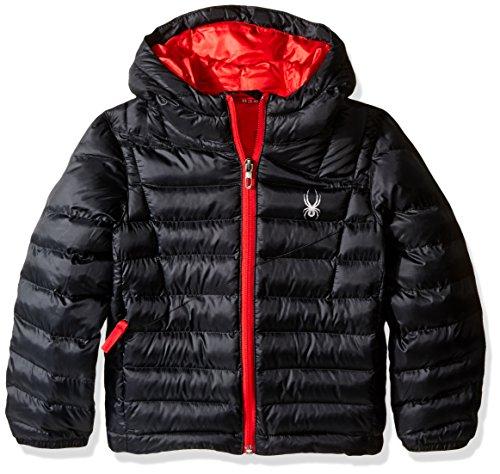 Spyder Boys Dolomite Synthetic Down Jacket, Black/Formula, Small