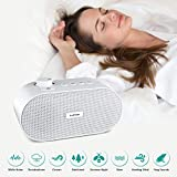 White Noise machine, Noise Sound Machine, Sleep Sound Machine with Non Looping Soothing Sounds for Baby Kids Adult, Portable Auto off Timer Batteries Powered for Home Office Travel