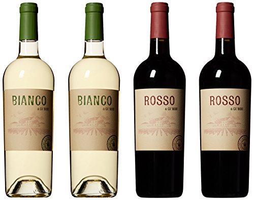 Ca'Momi Napa Valley House Wine Gift Pack 4 x 750 mL