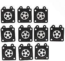 SODIAL 30 Piezas de Carburador Partes Motosierra Almohadillas de ...