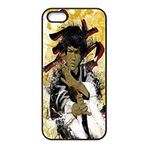 Jeet Kune Do founder Kung Fu Bruce Lee Hard Plastic phone Case Cove For Apple Iphone 5 5S Cases JWH9144668