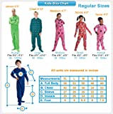 Footed Pajamas - In The Clouds Kids Hoodie Chenille