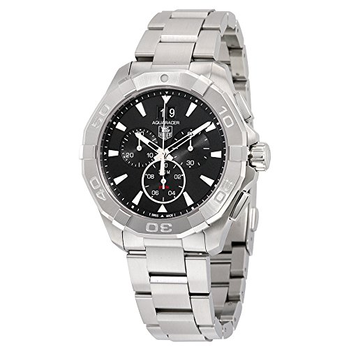 Tag Heuer Aquaracer 300M Chronograph 43mm Black Men's Watch CAY1110.BA0927 by TAG Heuer