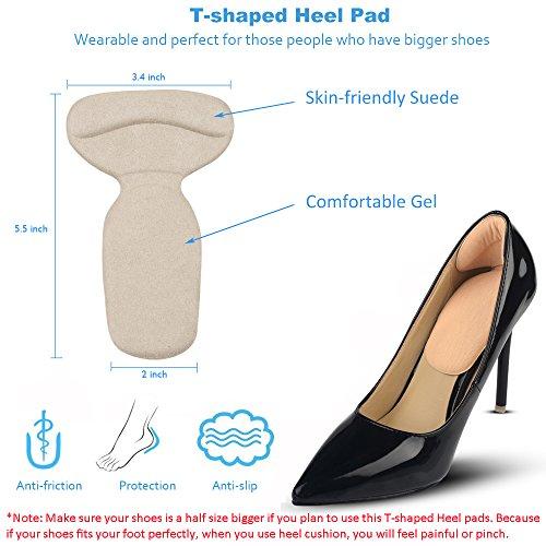 5a4ad7b5f30f Jual AGUARA Heel Cushion Inserts - 16 pcs Heel Protector for Women ...