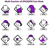 Xpassion Black Face Mask Neck Gaiter Face Mask 2