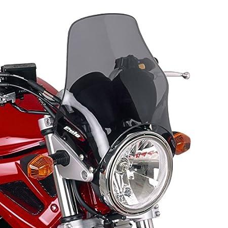 Saute vent Puig Naked Yamaha YBR 125//Custom 08-15//Honda CG 125 98-01 fum/é clair