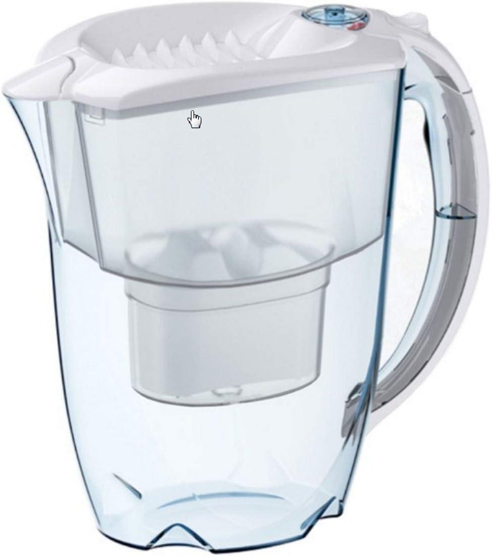 AQUAPHOR 25,5 - Filtro de Agua Amatista (plástico), Color Blanco: Amazon.es: Hogar