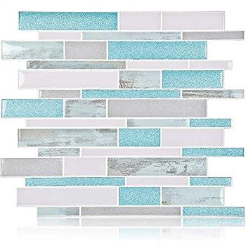 Amazon Com Homeymosaic Peel And Stick Backsplash Tile 3d