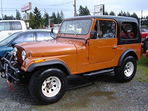 Jeep CJ5/CJ7/Cherokee/Wagoneer/Truck - Owner manual