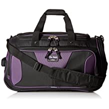 Travelpro Tpro Bold 2.0 22 Inch Soft Duffel Bag, Black/Purple, One Size