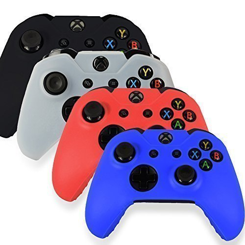 Silicone Skin Case Cover For Xbox 360 Game Controller Red - 7