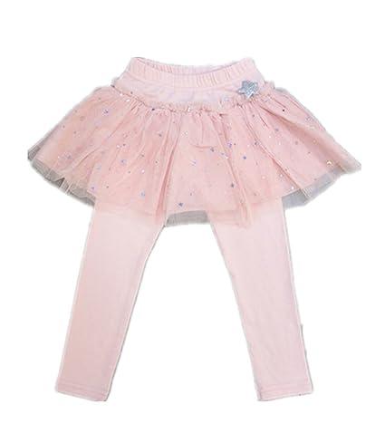 e608bd7ac2d42 WIN フリル 子供 用 スカッツ 清楚 な 女の子 に ぴったり スカート 付 レギンス 「子供服