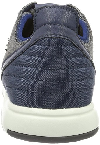 Geox U Xunday 2fit B, Zapatillas para Hombre Gris (ANTHRACITE/LT NAVYC9AB4)