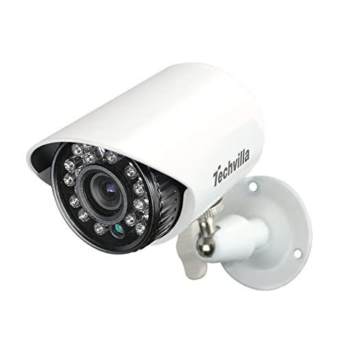 TECHVILLA 700TVL SURVEILLANCE CCTV DAY CAMERA SECURITY PROTECT RECORD HOME SHOP
