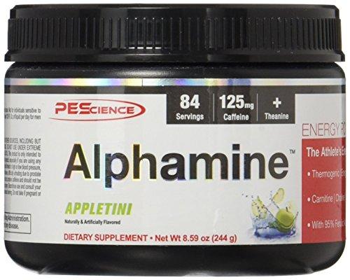 PEScience Alphamine, Appletini, 8.59 Ounce