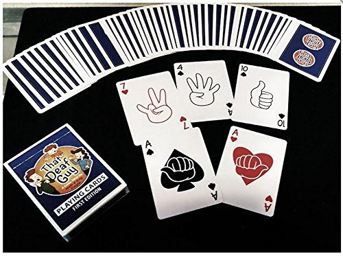 That Deaf Guy First Edition Playing Cards - Using American Sign Language (ASL) on each card!