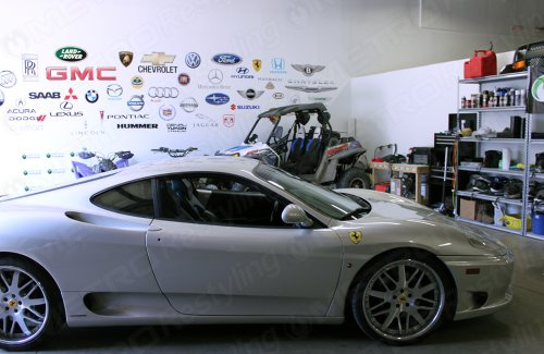 3M 1080 G120 GLOSS WHITE ALUMINUM 3in x 5in (SAMPLE SIZE) Car Wrap Vinyl Film	 by 3M (Image #4)