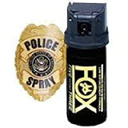 Fox Labs, 5.3 SHU Pepper Spray- Flip Top Cone (2 oz)