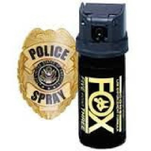 - Fox Labs, 5.3 SHU Pepper Spray - Flip Top Cone (1.5 ounce)