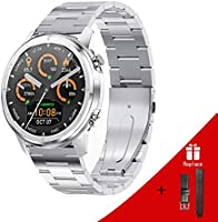 LEMFO Smart Watches, Smart Watch 2020 Newest smart watch for mens Full Touch Screen, Fitness Trackers GPS, Email,Facebook...
