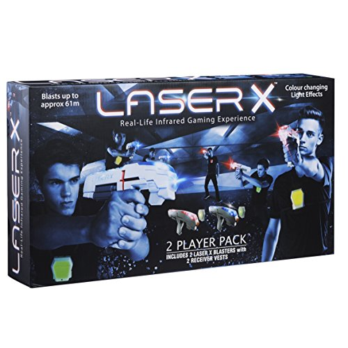 Laser X 88016 Two Player Laser Gaming Set (Alle 2 Tag)