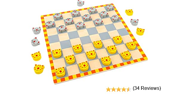 small foot company Damas Gato Y Ratón: Amazon.es: Juguetes y juegos