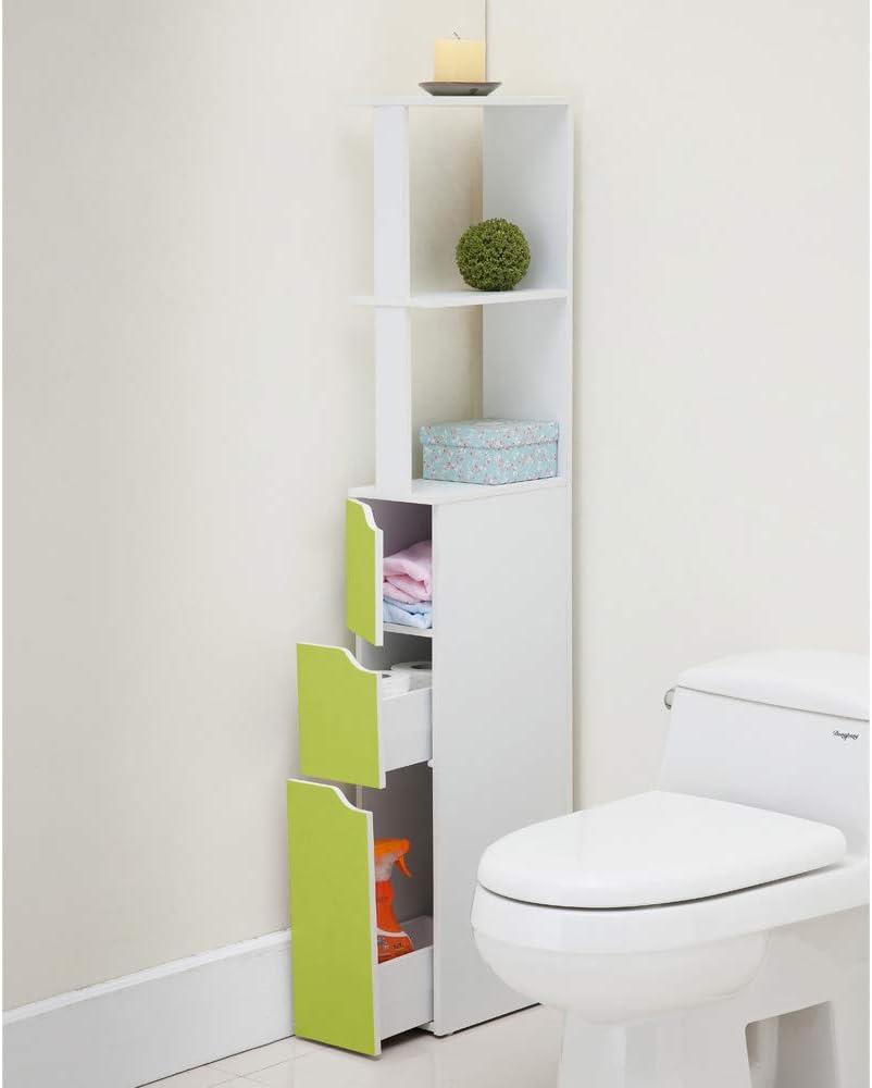 136x15.2x33 cm Selsey Bathroom Shelf Blue