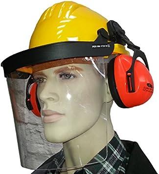 Forsthelm Gesichtsschutz Gehörschutz Waldarbeiterhelm