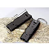 2 Pack Outdoor Emergency Survival Whistle 150