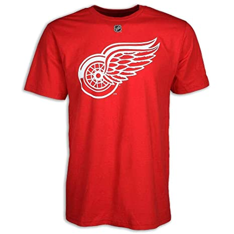 f08f04ae07a Image Unavailable. Image not available for. Color  Detroit Red Wings Dylan  Larkin Player Name   Number T-shirt ...