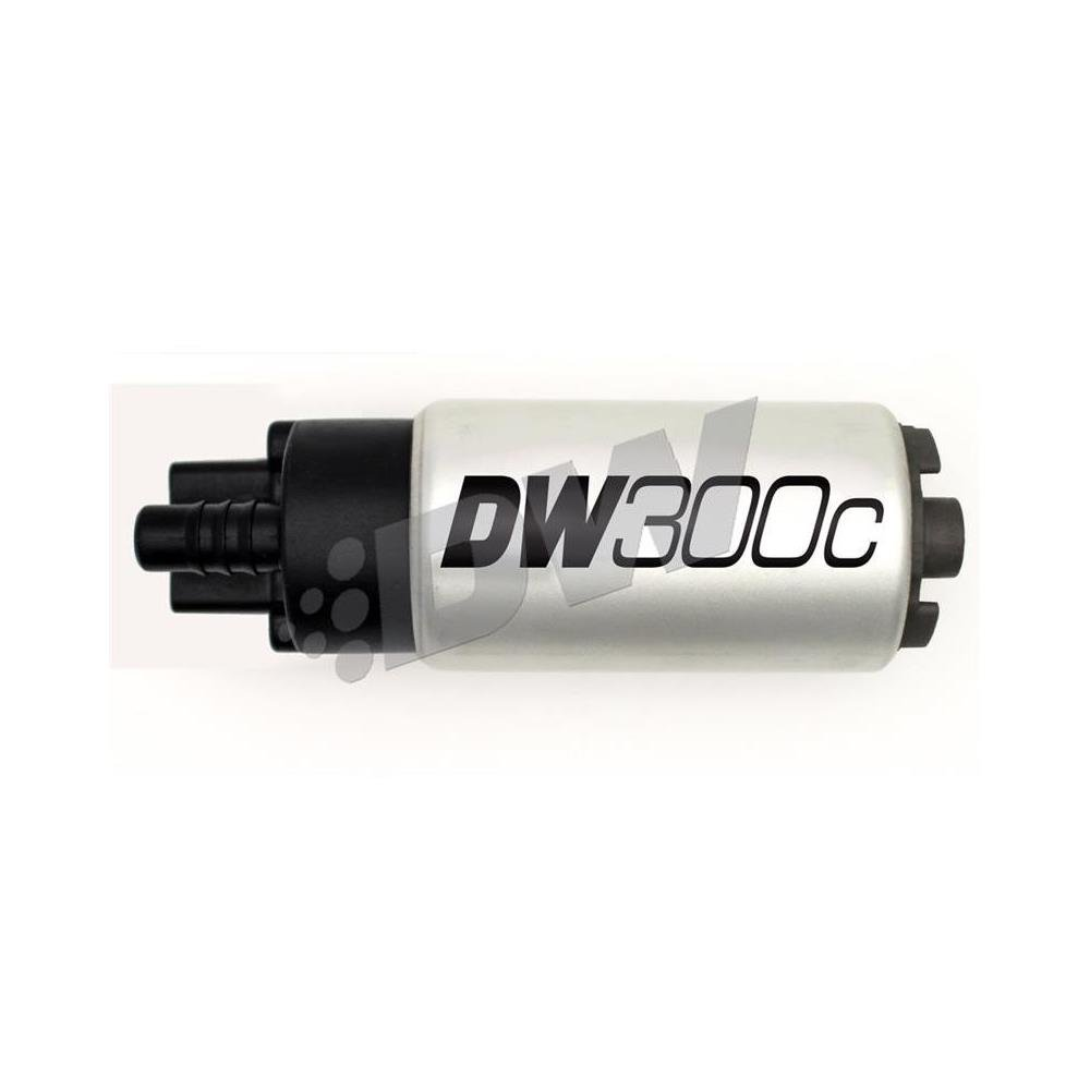 DeatschWerks 340lph DW300C Compact Fuel Pump w/ 12+ Scion FR-S/BRZ / 15 WRX Set Up Kit (9-307-1010) by DeatschWerks