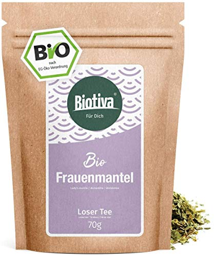 Alchemilla Bio - 70g - qualità massima biologica - Tè - alchemilla vulgäres - raccomandato da ostetriche - confezionato… 1 spesavip