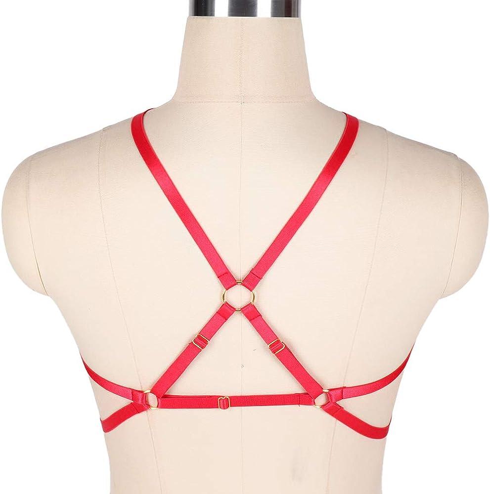 BBOHSS - Arnés para Mujer, para el Cuerpo Cruzado Rot-o0218. XXX ...