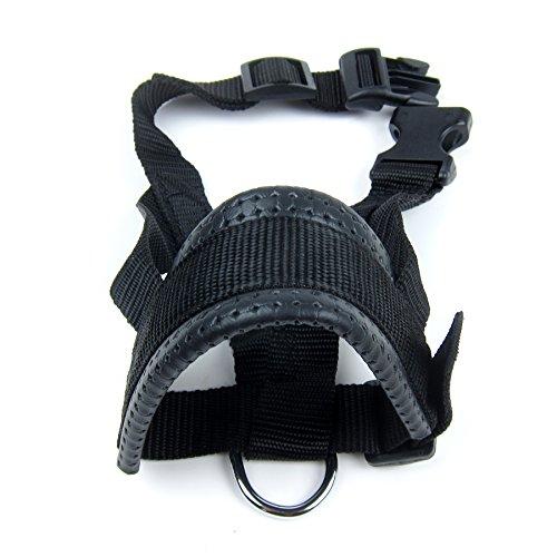 Alfie Pet by Petoga Couture - Jaimy Adjustable Quick Fit Nylon Muzzle - Color: Black, Size: XXL by Alfie (Image #7)