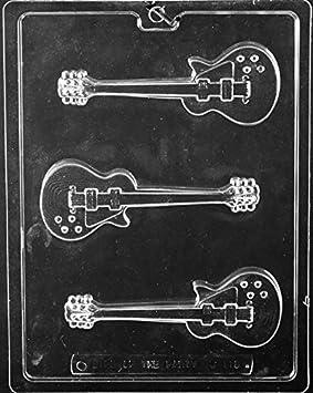 Guitarra eléctrica Chocolate molde - J110: Amazon.es: Hogar