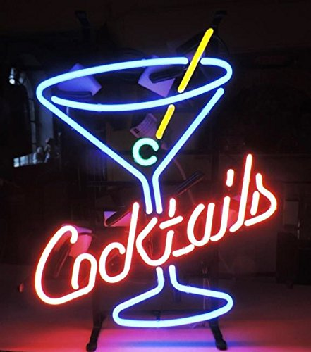 Cocktails Martini Neon Sign 24